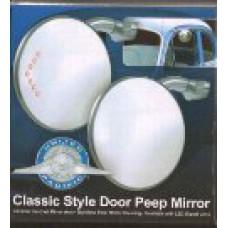 4 inch peep mirror with LED turn signal