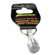 Piston Key Chain by Darrell Gwynn Racing