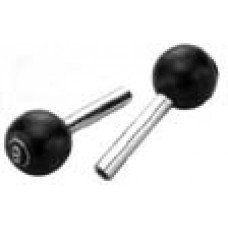 8 Ball Door Pulls Black