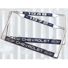 Chevy License Plate Frames