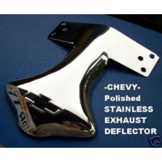Chevy Stainless Exhaust Deflector