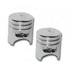Chrome Piston Valve Caps