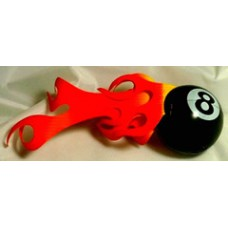 Flaming 8 Ball Topper