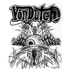 Von Dutch Sticker