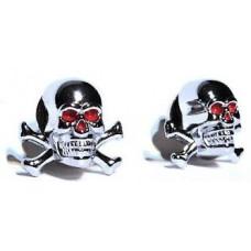 Skull and Cross Bones Tag Bolts
